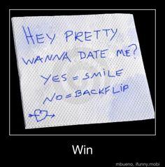 WIN haha