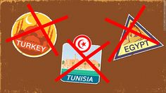 Many countries have become too frightening for tourists due to terrorism concerns, including Egypt, Tunisia and Turkey. Travel Flights, Travel News, Aviation News, Egypt, Turkey, Country, Turkey Country, Rural Area, Country Music