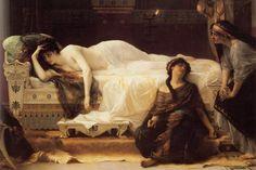 Obra de Alexandre Cabanel: Phaedra, 1880.