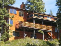 So Much Fun Chalet is a spacious North Lake Tahoe vacation rental with a stunning Lakeview, perfect for your family reunion or large get together.  $515-$690 per night