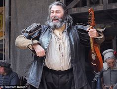 Roger Allam as Falstaff, Henry IV, Parts 1 and 2. Shakespeare's Globe.