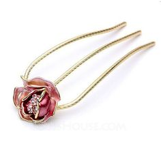 Jewelry - $12.99 - Gorgeous Alloy/Rhinestones Women's Hair Jewelry (011040092) http://jjshouse.com/Gorgeous-Alloy-Rhinestones-Women-S-Hair-Jewelry-011040092-g40092?ver=1