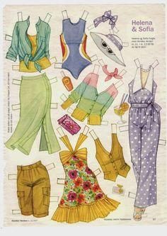 Helena og Sofia 05 tøj
