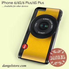 Lemon Yellow Leica Camera Phone Case for iPhone 6/6s/6 Plus/6S Plus