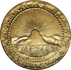 gold doubloon | The first gold coin made for the United States, the Brasher Doubloon ...