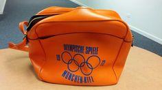 1972 Munich Olympics vinyl carrying Bag  #Unbranded