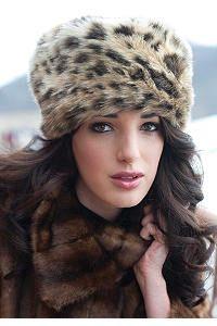 Leopard Russian Style Hat