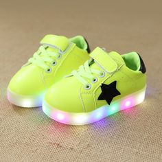 07c73dbc854c Children Shoes With Light Baby Boys Girls LED Light Up Shoes Kids Luminous Sport  Shoes Glowing Sneakers Boys Girls Ligthed Shoes
