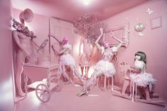 Pink | This Photographer Transforms One Room Into A World Of Colours