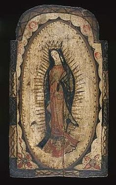 Our Lady of Guadalupe by Pedro Antonio Fresquís / American Art
