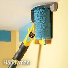 Why didn't i find this months ago...Best DIY Painting Tools. Experts list the best tools for painting—including brushes, rollers, paint removers, masking tools, cleaning tools, pouring spouts, poles, ladders and more. Edge-painting tool in action