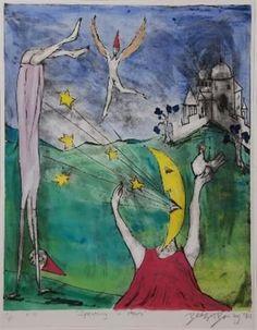Speaking in stars by Beezy Bailey on artnet