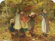 Lionel Percy Smythe ~ Children Coming Home from School ~ (English 1839-1918)