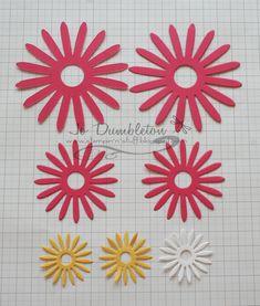 Stampin' 'n Stuff: Flower Daisy #2 Die Tutorial