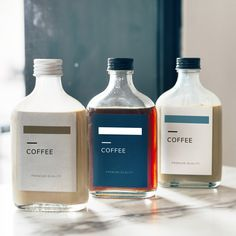 These are great stickers for product labels and adding them to promotional products! Juice Packaging, Beverage Packaging, Coffee Packaging, Coffee Branding, Bottle Packaging, Bottle Mockup, Bottle Labels, Bottle Bottle, Bottles