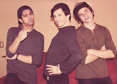 Allstar Weekend. This photo perfectly describes each of them. HAHAHA <3