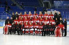 2014 sochi olympics hockey | ... hockey team poses for pictures ahead of the 2014 Sochi Winter Olympics