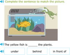Improve your language arts skills by practicing free problems in 'Select the best preposition to match the picture' and thousands of other practice lessons.