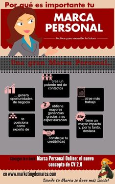 Por qué debería preocuparme por mi #MarcaPersonal #Infografía