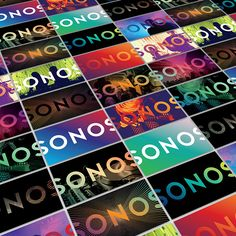 Sonos on Behance