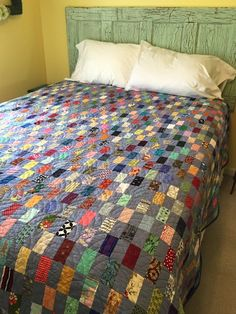 This is a big finish today! I wouldn't have gotten it done except that hubby is out of town on business. My house is a mess, but my quilt is done! The first two pics show the quilting before …
