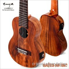 "Enya samall guitar&ukulele , 28 "" Guitar/fishman EQ, A level Acacia wood Hawaii Small Classical headstock"