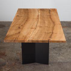 Urban Hardwoods oak dining table