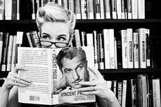 Vintage Librarian by **Kel-Z**, via Flickr