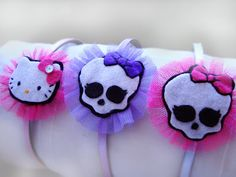 DIADEMAS MONSTER HIGH Y HELLO KITTY