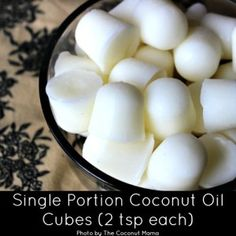 Single Portion Coconut Oil Cubes - How To Cook With Coconut Oil | The Coconut Mama
