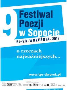 9 Festiwal Poezji w Sopocie 21-23.09.17