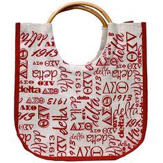 Delta Sigma Theta Jute Bag
