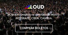 Loud es mucho más que un congreso de liderazgo, es una experiencia única que pretende cambiar las vidas de los asistentes y motivarlos a generar un cambio positivo en su comunidad. En su octava edición el Congreso Loud, organizado por estudiantes del Tecnológico de Monterrey, demostrará una vez más que no hay límite inalcanzable.