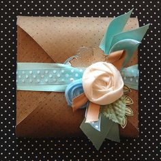 DIY..parcel wrap ideas