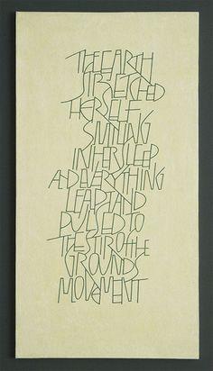 Gillian Hazeldine Calligraphy Quotes, Calligraphy Letters, Typography Letters, Modern Calligraphy, Letter A Crafts, Letter Art, Creative Lettering, Lettering Design, Fancy Letters