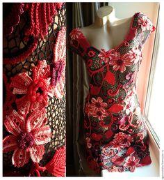 платье -Красное и Черное - Katerina - Ярмарка Мастеров http://www.livemaster.ru/item/12043155-odezhda-plate-krasnoe-chernoe