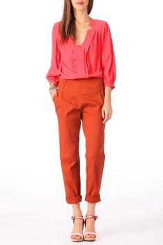 blouse double boutonnage - Recherche Google
