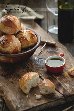 Bread Buns by Food Photography by Alexey & Julia, via Flickr