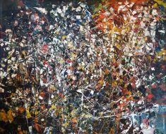 Untitled, 1949 by Jean-Paul Riopelle Canadian Art, Abstract Expressionism, City Photo, Holiday Decor, Artist, Artwork, Image, Paintings, Canada