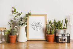 Love Printable Art  www.etsy.com/... #love #heart #LovePrintableArt #PrintableWallArt #DownloadablePrints #AnniversaryGifts #Printables #HeartPrints #GiftsForWomen #gifts #valentinesday #digitaldownload