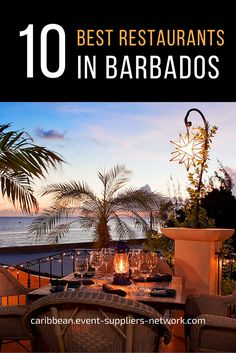 10 Best Restaurants in Barbados according to Tripadvisor. Click to learn more.  (Photo credit: Cafe Luna, Barbados)