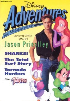 Disney's answer to Nickelodeon Magazine, Disney Adventures. I got this magazine for YEARS, up until they stopped producing it.