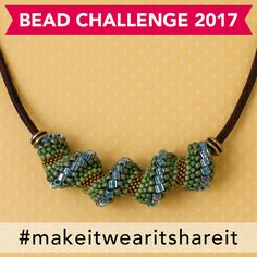 30 Day Bead Challenge Day 26: Learn a new beading stitch - Madeline