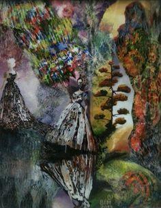 oil on glass, details on www.simonadancila.com #artboost #art #painting #BoostYourArt www.artboost.com