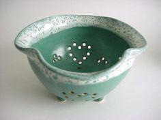 Colander: Stoneware for the kitchen