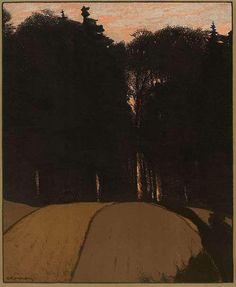 Autumn Evening, 1900: Gustav Kampmann