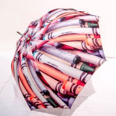 Crayon Photo Art Umbrella