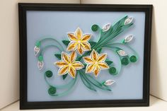 Spring is coming  Paper Quilling  OOAK  Quilling247 by Quilling247, $60.00