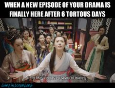 Who can relate?  Find more memes and Kdrama discussion on my blog Living in Loganland.  #kdrama #meme #kdramameme #goara #hwarang #livinginloganland