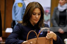--Nov 6, 2014--Crown Princess Mary of Denmark attends the regional review meeting of the status of women in the UNECE region 20 years after the Beijing platform for action held at the United Nations Office at Geneva on November 6, 2014 in Geneva, Switzerland.